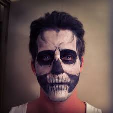 skull makeup by luciuspoe