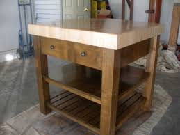 Kitchen Work Table Tables For Counter Height Bar Butcher Block Ideas