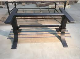metal dining room furniture. steel dining table base ohiowoodlands metal legs powder coated for sale room furniture 6