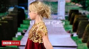 <b>Double</b> amputee model walks at New York <b>Fashion</b> Week - BBC News