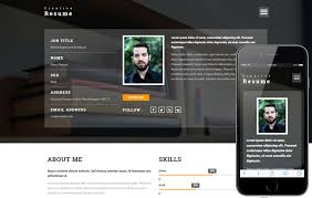 simple resume website simple resume template best resume themes free template cv website