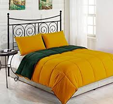 yellow king size comforter. Contemporary Size Amazoncom YellowHunter Green KING Size 3Piece Reversible Down  Alternative Comforter Set By Cozy Beddings Home U0026 Kitchen And Yellow King