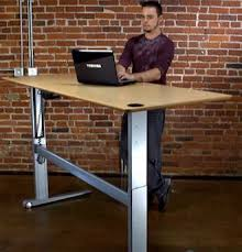 Fine Adjustable Height Desk Ikea Must Have Spacious Standing On Inspiration Decorating