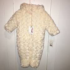 Jessica Simpson Baby Clothes New Jessica Simpson Jackets Coats Baby Girl Long Pile Faux Fur Pram