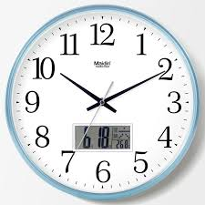 office wall clock. Exellent Office Living Room Wall Clock Bedroom Office Mute Nordic  Creative Charts Simple Perpetual Calendar Quartz With Office Wall Clock