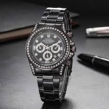 high quality famous top watches rolex 40mm womens watch steel band gold men sports watch women