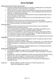 combination resume sample project manager airlines pg2 resume samples for project managers