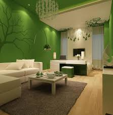 To Paint Living Room Walls Living Room Combination Of Green And White Living Room