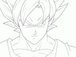 Small Picture Goku Super Saiyan 4 Coloring Pages Printable Coloring Sheet