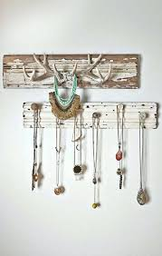 necklace wall hanger perfect necklace wall hanger inspirational necklace organizer made with reclaimed wood hooks for necklace wall hanger