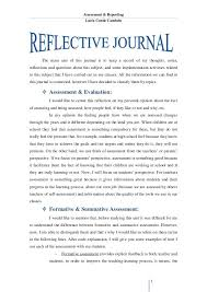 Further, while developing these strategies for discussion, the focus will also be diverted to the indication and use of personal experience in placements. Reflective Journal Unit 1 Reflective Essay Examples Self Reflection Essay Reflective Journal