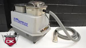 thermax heated carpet extractor detail king