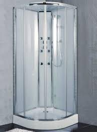 sydney 800mm x 800mm quadrant shower cabin with massage jets