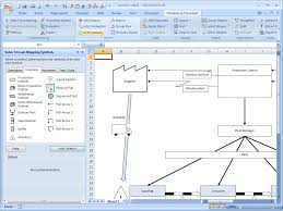 process maps in excel value stream mapping software breezetree