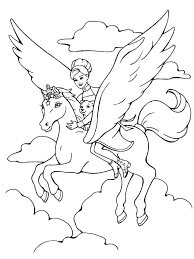 Magical Coloring Pages Magical Coloring Pages Barbie Coloring Pages ...