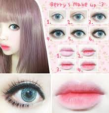kawaii and make up image