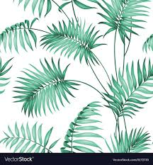 Topical Pattern Amazing Topical Palm Leaves Royalty Free Vector Image VectorStock
