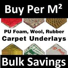 carpet underlay roll. carpet underlay - cloud 9, tredaire 8mm 10mm or 12mm thick, foam rubber roll