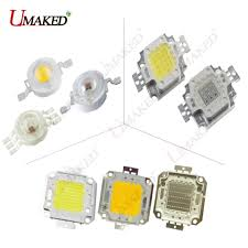 High Power LED Chip <b>1W 3W 10W 20W</b> 30W 50W 100W COB SMD ...