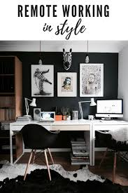 how to arrange an office. How To Arrange A Stylish Office In Your Home So You Can Work Remotely. An