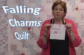 Falling Charms Quilt Tutorial - Quilting With Charm Packs - YouTube &  Adamdwight.com