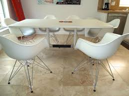 eames molded chair. Thelongboardrider Eames White Dining Table \u0026 Plastic Molded Chairs By Herman Miller | Chair