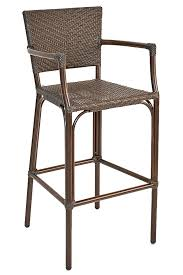 florida seating safari outdoor mercial aluminum patio bar stool 15