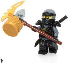 LEGO Ninjago Day of The Departed Minifigure - Cole (Scabbard) Limited  Edition Foil Pack: Amazon.co.uk: Toys & Games