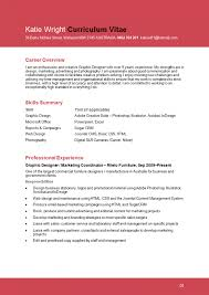 Graphic Designer Sample Resume Letters Cover Letter Template And