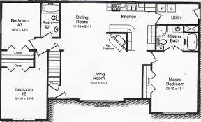 3 Bedroom Open Floor House Plans Ideas Best Design