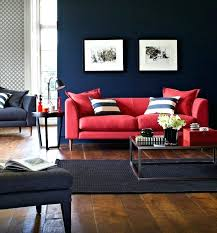 decorating with red furniture