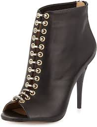 l a m b tony leather p toe bootie black 259 last call by neiman marcus lookastic com