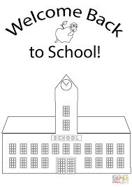 back to school coloring pages book color by number free printable