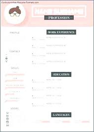 Free Modern Resume To Download Modern Resume Template Pages Outoand Co
