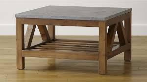 square limestone coffee table