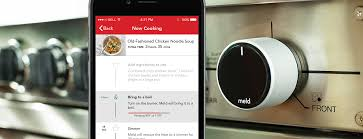stove knob. the meld smart knob takes over your stove to do cooking