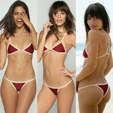 New Posh Pua Kainalu Rouge Bare Bikini Bottom Red No Trade