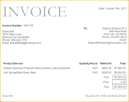 Prepare Invoice Latex Invoice Template Combined With Example Of Invoice Template To