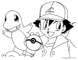Small Picture Pokemon Ash Coloring Page 01 And Pages Charmander creativemoveme