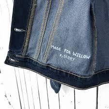 Design Your Own Denim Customized Jacket Kids In 2019 Painted Denim Jacket