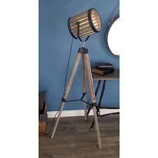 rustic barrel floor spotlight