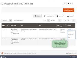 xml google sitemap