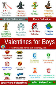 Free Printable Valentines For Boys Valentines For Boys