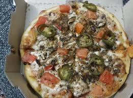 Pizza Mania Size Chart Veg Loaded Pizza Picture Of Dominos Pizza Hyderabad