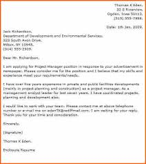 project manager cover letter project manager 1