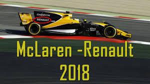 2018 mclaren f1 car. beautiful car renault mclaren f1 otoschnell throughout 2018 mclaren f1 car