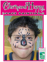 spider face painting pierce college winnetka ca discover channel animal planet