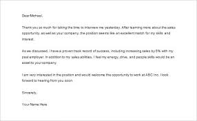 Sample Follow Up Letter To Recruiter After Interview