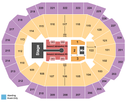 Fiserv Forum Seating Chart View The Chainsmokers 5 Seconds Of Summer Tickets Tue Nov 12