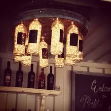 wine lighting. custom wine bottle lights at malibu wines lighting